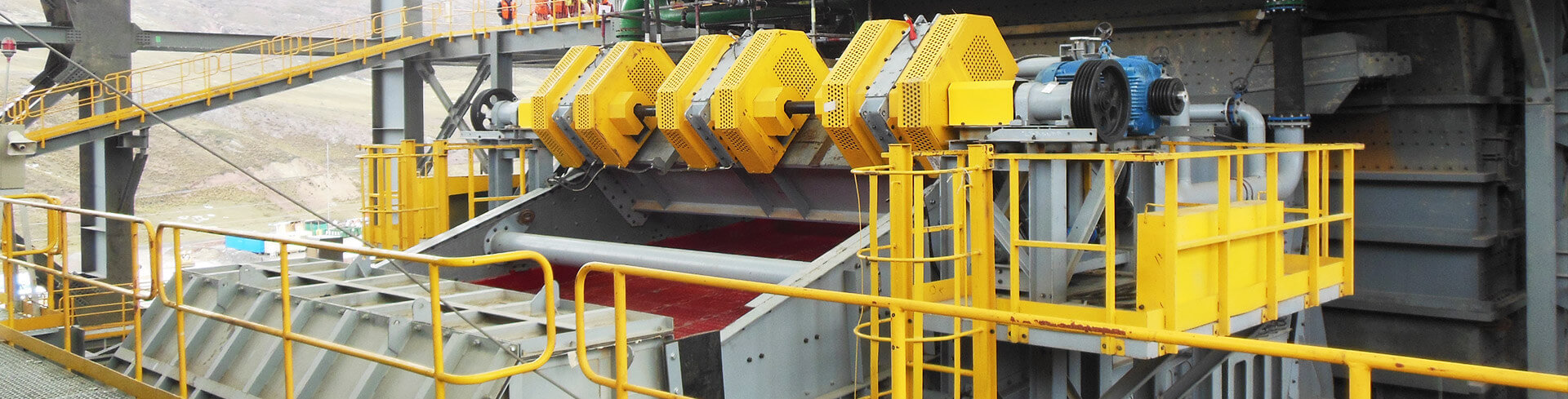 Vibrating Screen, Linear Screen
