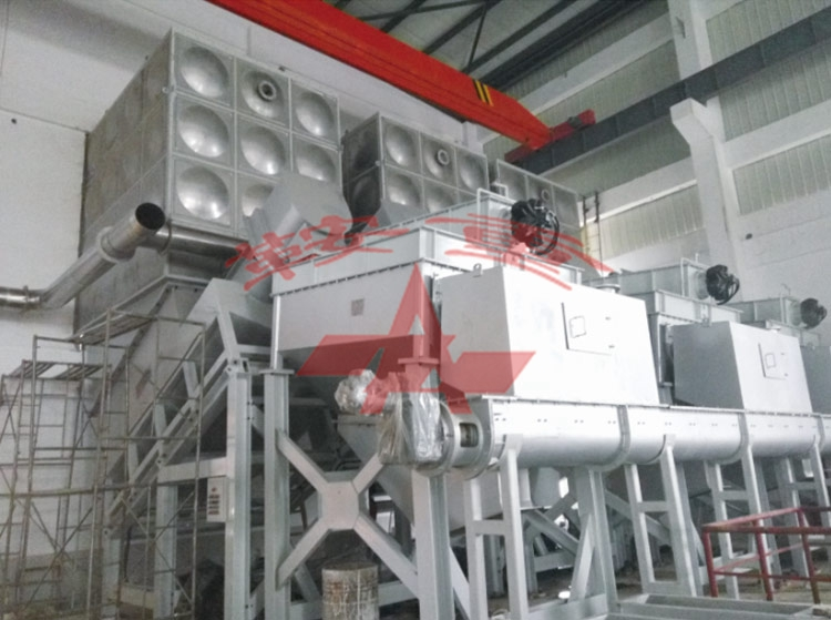 'Production line for kitchen waste' which Anzhong independently researched and developed is successfully located in Shijiazhuang