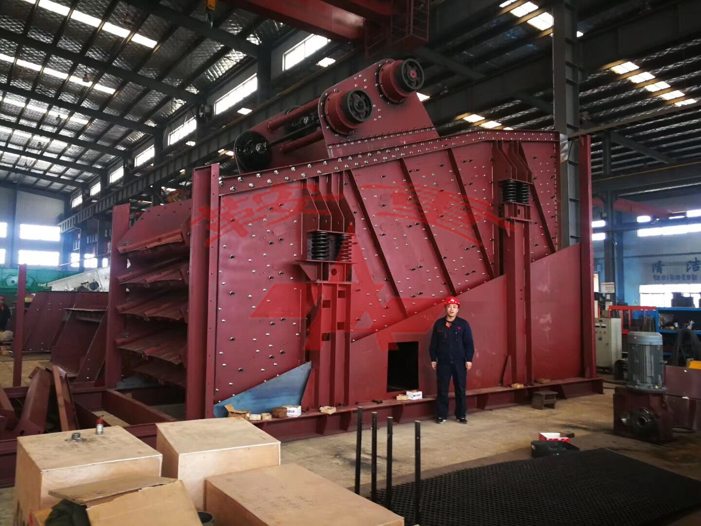 Large-scale Asphalt Mixing Plant Special Screen