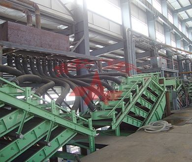 Working site for High Frequency Vibrating Fine Screen