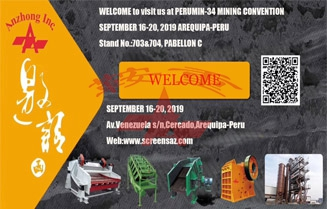 WELCOME to visit us at PERUMIN-34 MINING CONVENTION