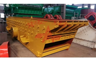 The 1561 Circular Vibrating Screen produced by Anzhong Inc.