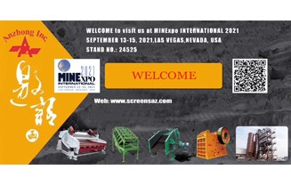 Welcome to Visit Us at Minexpo International 2021